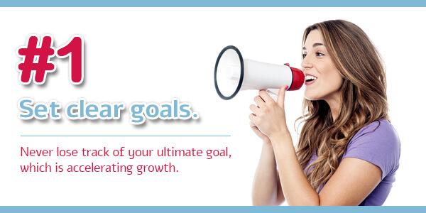 Creating an Ambassador Program - Tip 1: Set clear goals