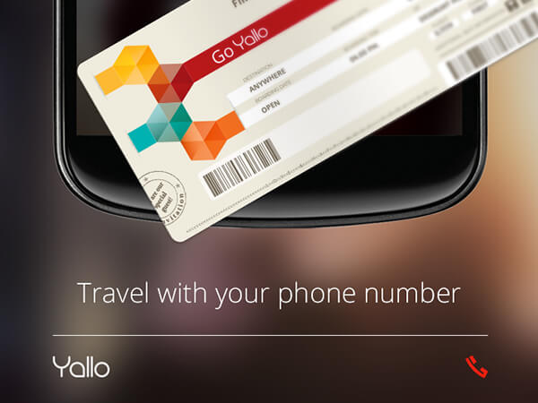 Yallo: Take your own number with you whenever you travel abroad