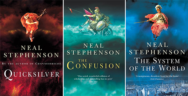 Books from Neal Stephenson's serires The Baroque Cvcle