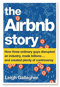 The Airbnb Story by Leigh Gallagher - book cover