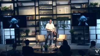 Sisense CEO, Amir Orad, speaking at the Israel Growth Summit 2018