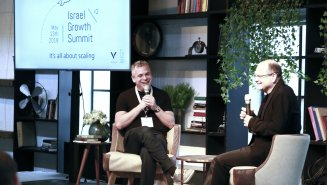 Check Point Co-founder & CEO, Gil Shwed, interviewed by Wix Co-founder & CEO, Avishai Abrahami at the Israel Growth Summit 2018